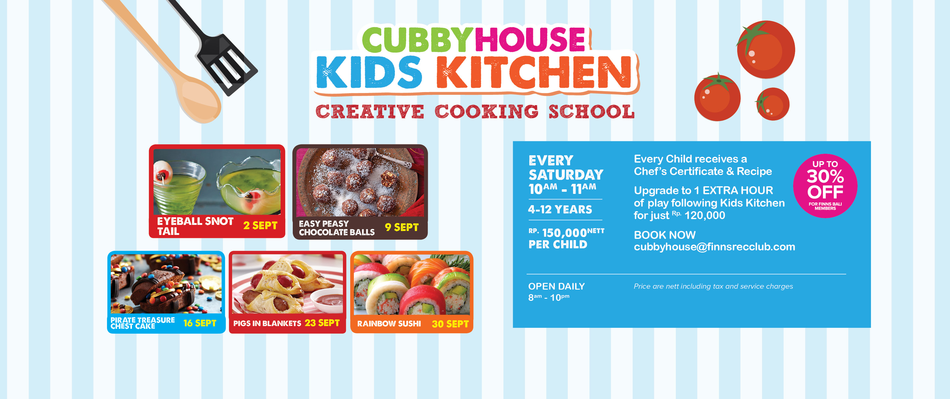 Cubby House Kids Kitchen – Pigs In Blankets | The Bali Bible