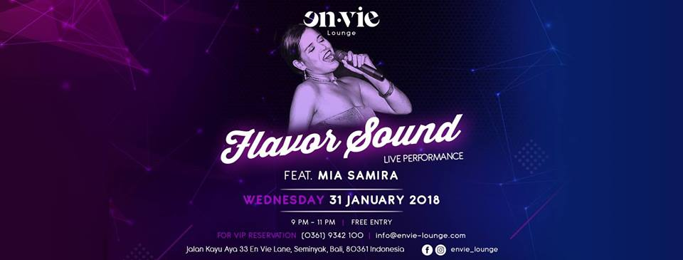 Flavor Sound - Feat Mia Samira | The Bali Bible