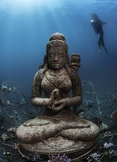 The Underwater Temple Garden Of Bali The Bali Bible