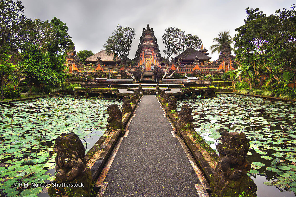 Pura Taman Saraswati The Bali Bible