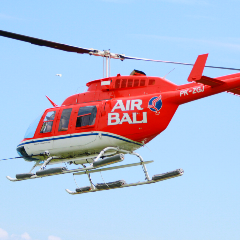 Air Bali Helicopter The Bali Bible