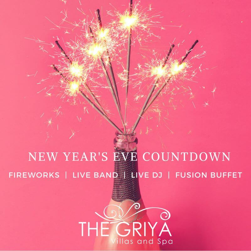 The Griya: New Year's Eve Party 2018!